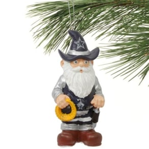 Dallas Cowboys Thematic Gnome Ornament