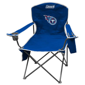 Outdoor Jarden Tennessee Titans XL Cooler Quad Chair