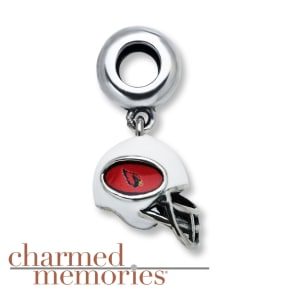 Charmed Memories Arizona Cardinals Charm Sterling Silver