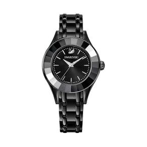 Swarovski Alegria Watch, Metal Bracelet, Black, Black Tone Teal