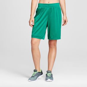Women's Basketball Shorts - C9 Champion Matcha Green S