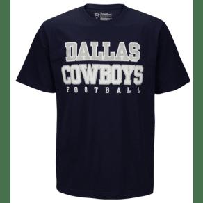 Dallas Cowboys Dcm Nfl Practice Cotton T-Shirt - Mens - Navy