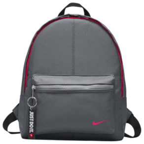 Nike Young Athletes Classic Backpack - Grade School - Cool Grey/Black/Racer Pink