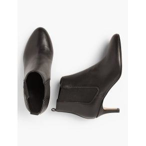 Talbots Women's Isabel Pull on Ankle Booties