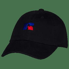 Russell Logo Adjustable Cap - Adult - Black