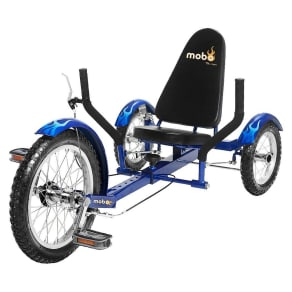 Mobo Youth Triton 16 Three Wheeled Cruiser - Blue