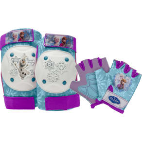 Bell Sports Elbow/Knee Pads Aqua - Disney Frozen