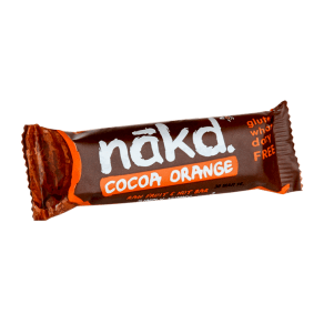 Nakd Cocoa Orange Fruit & Nut Bar 35g - 35g, Orange