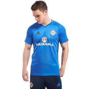 Adidas Northern Ireland 2016/17 Training Shirt - Blue - Mens