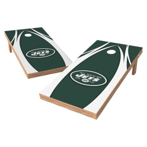 New York Jets Wild Sports Xl Shield Logo Cornhole Bag Toss Set - 2x4 Ft.