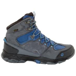 Jack Wolfskin Waterproof Hiking Shoes Men Mountain Attack 5 Texapore Mid Men 11 Blue