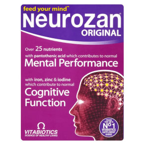 Vitabiotics Neurozan 30 Advanced Tablets