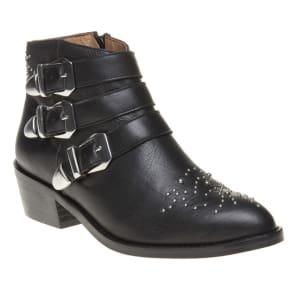Sole Averil Boots, Black