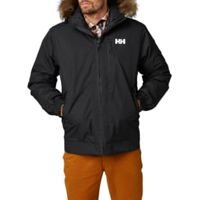 Helly Hansen Dubliner Insulated Men's Bomber Jacket, Black