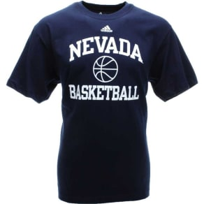 Nevada Wolf Pack Adidas Ncaa Basketball Coln T-Shirt