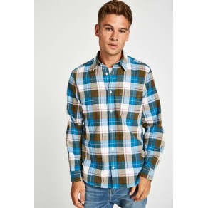 Dundry Flannel Check Shirt