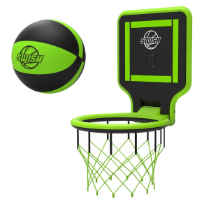 Swish Portable Basketball Hoop - Green