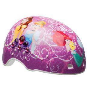 Disney Princess Gems and Pearls Child Helmet - Purple/Pink