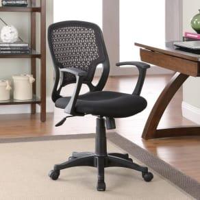 Venetian Worldwide Ownby Office Chair in Black Mesh
