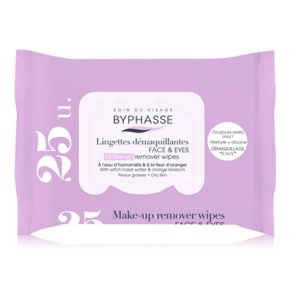 """Byphasse Make Up Remover Wipes- Oily Skin 25 Wipespop-Up"""""""