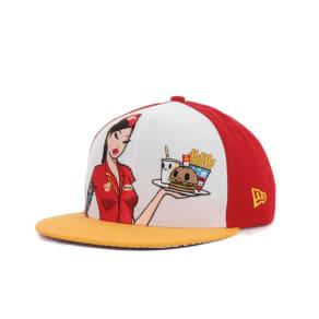 Tokidoki Tokidoki Burger Joint Snapback Cap