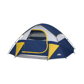 Northwest Territory Sierra Dome Tent - Blue, Blue/Yellow And Sliver Gray