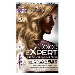 Schwarzkopf Color Expert Medium Blonde 8.0 Hair Dye