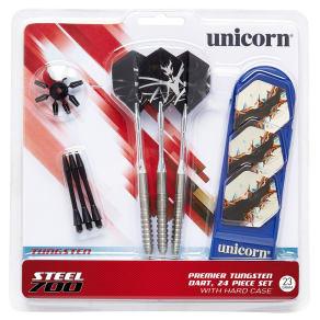 Unicorn Steel 700 Dart Set, Multi-Colored