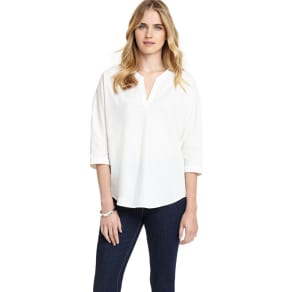 Phase Eight Sanya Split Back Poplin Shirt