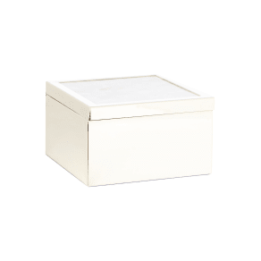 Luxury Hotel Collection Mother of Pearl Box, White