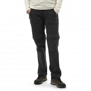 Craghoppers Charcoal Nosilife Pro Convertible Trousers