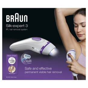 Braun Permanent Visible Hair Removal Ipl Bd3001