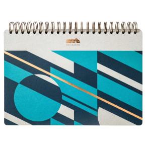Mini Moderns A4 Wiro Notebook