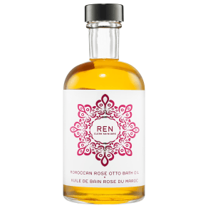 Ren Moroccan Rose Otto Bath Oil 4.08 Oz/ 121 Ml