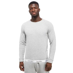 Calvin Klein Tape Sweatshirt - Grey - Mens