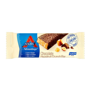 Atkins Advantage  Chocolate Hazlenut Crunch Bar With Sweetener - 60 G