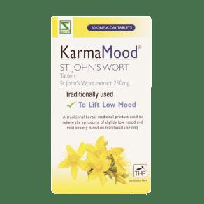 Schwabe Pharma Karma Mood St John's Wort 250mg 30 Tablets - 30tablets