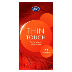 Boots Thin Touch Condoms 12 Pack