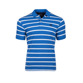 Men's Raging Bull Breton Polo, Cobalt