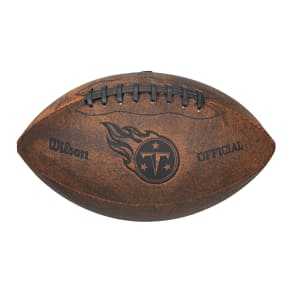 Wilson Tennessee Titans 9-Inch Throwback Leather Football