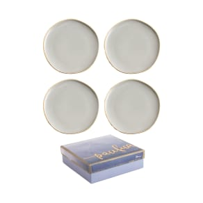Rosanna Pacifica Set Of 4 Plates