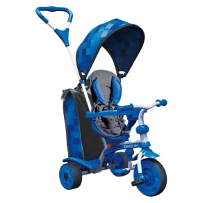 Yvolution Y Strolly Spin 2-In-1 Kids' Trike - Blue