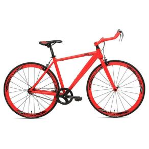 Rapid Cycle Evolve Bullhorn Road Bike 19 - Red