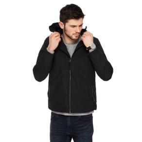 Red Herring - Black Hooded Jacket