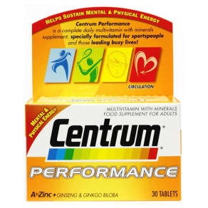Centrum Performance - 30 Tablets