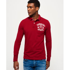 Classic Long Sleeve Superstate Polo Shirt