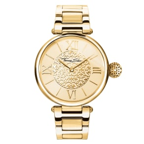Thomas Sabo Women's Watch Yellow Wa0308-264-207-491