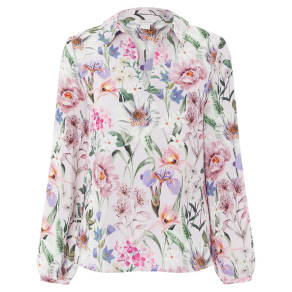 Monsoon Pink  Carly' Floral Top