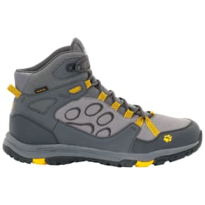 Jack Wolfskin Waterproof Hiking Shoes Men Activate Texapore Mid Men 10,5 Yellow