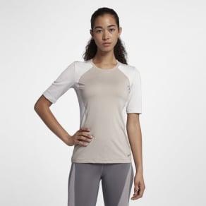 Nike Pro Hypercool Women's Short-Sleeve Training Top - Cream
